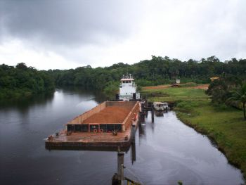 Moengo, Suriname, South America